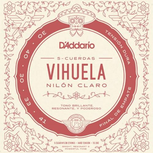 D'Addario MV10H Vihuela Snaren - Hoge Spanning