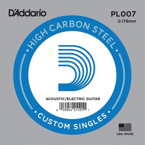 D'Addario PL007 Losse Snaar .007 Elektrisch / Western