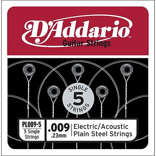D'Addario PL012-5 Losse Snaren .012 Elektrisch/Western 5-Pack
