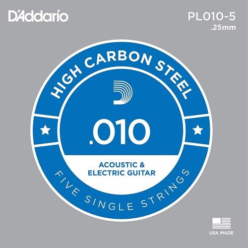 d'addario pl010 losse 010 snaren voor elektrische gitaar