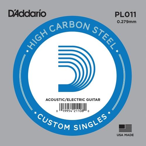 D'Addario PL011 Losse Snaar .011 Elektrisch / Western