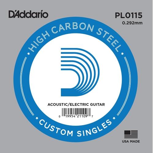 D'Addario PL0115 Losse Snaar .0115 Elektrisch / Western
