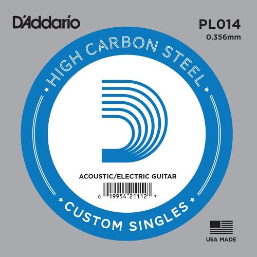 D'Addario PL014 Losse Snaar .014 Elektrisch/Western