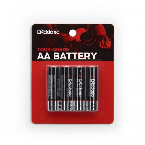 D'Addario PW-AA-04 AA-Batterijen 4-Pack