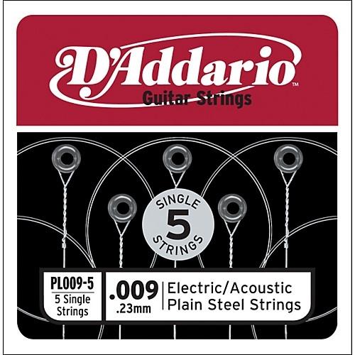 D'Addario PL009-5 Losse Snaren 5-Pack