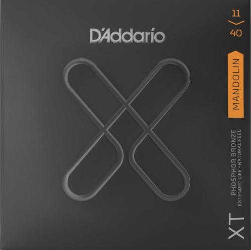 D'Addario XTM1140 mandoline snaren met XT coating