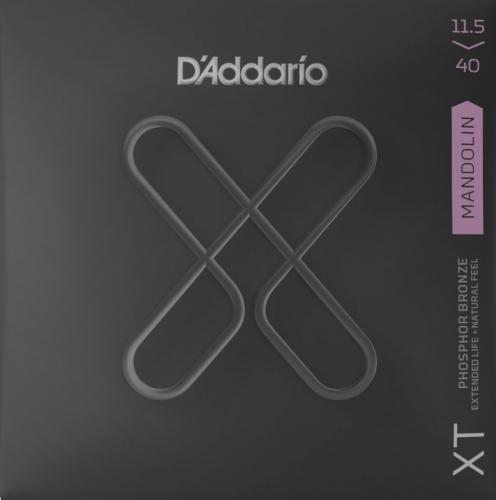 D'Addario XTM11540 mandoline snaren met XT coating - Custom Medium dikte