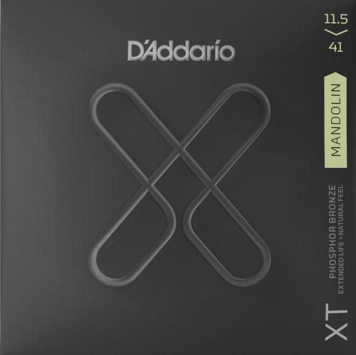 D'Addario XTM11541 mandoline snaren met XT coating - Medium Heavy dikte