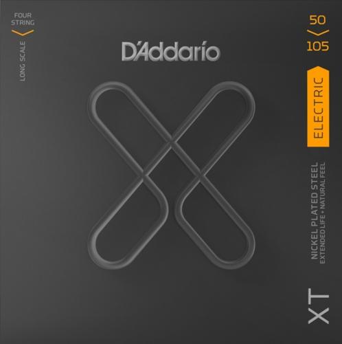 D'Addario XT bassnaren | D'Addario XTB50105 coated bassnaren