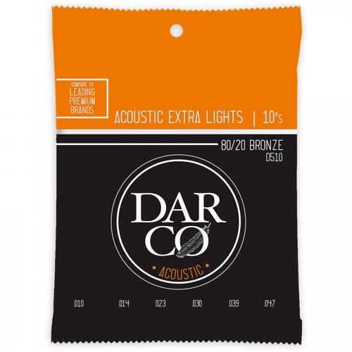 Darco D510 Bronze Snaren voor Akoestische Gitaar (10-47)