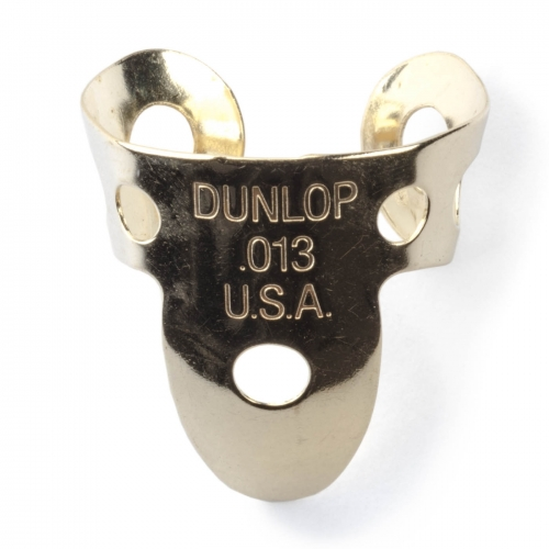 Dunlop 37R013 Vingerplectrum Koper .013 20-Pack