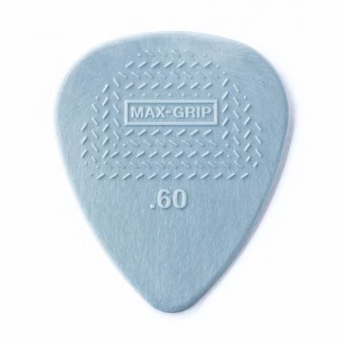 Dunlop 449P60 Max Grip Plectrum 0.60mm - Per Stuk