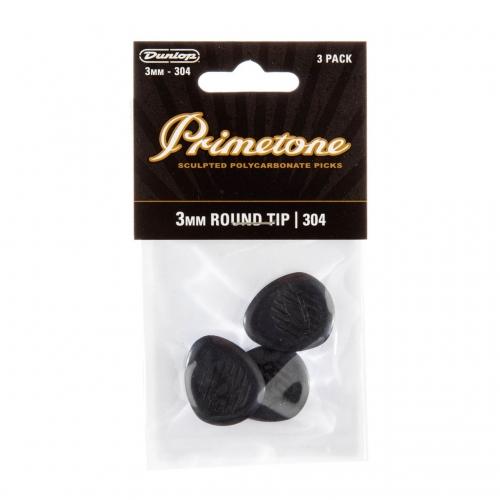 Dunlop 477P304 Primetone Classic Gypsy Jazz Plectrum 3.0mm 3-Pack