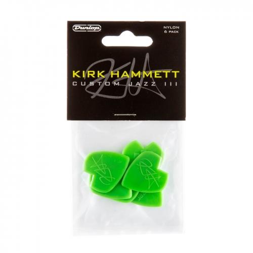 Dunlop 47PKH3N Kirk Hammet Jazz III Plectrum 6-Pack