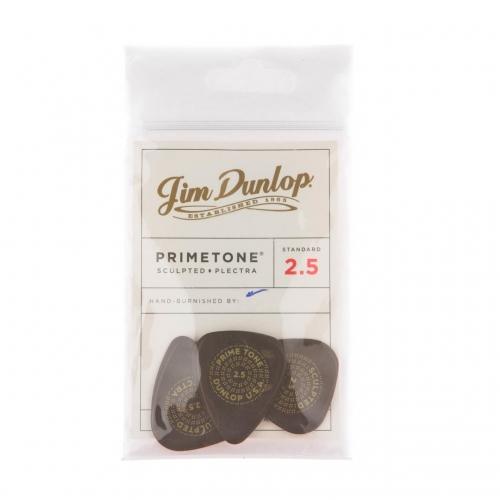 Dunlop 511P250 Primetone Standaard Glad Plectrum 2.5mm 3-Pack