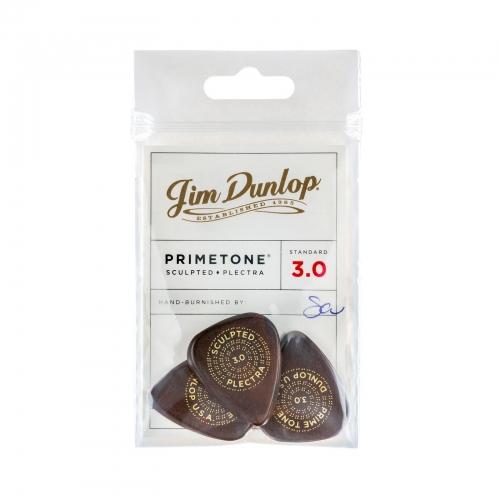 Dunlop 511P300 Primetone Standaard Glad Plectrum 3.0mm 3-Pack