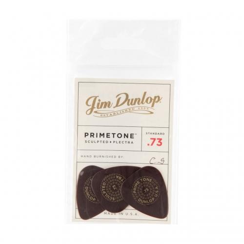 Dunlop 511P73 Primetone Standaard Glad Plectrum 3.0mm 3-Pack