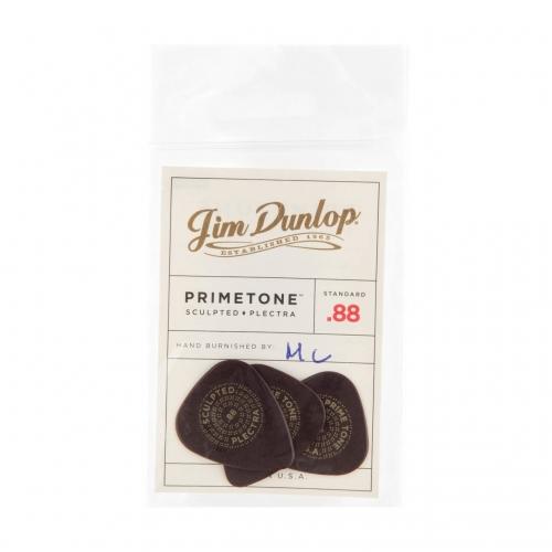 Dunlop 511P88 Primetone Standaard Glad Plectrum 0.88mm 3-Pack