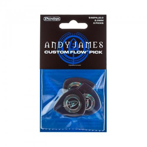 Dunlop Andy James Flow Plectrum 546PAJ200 - 3-Pack