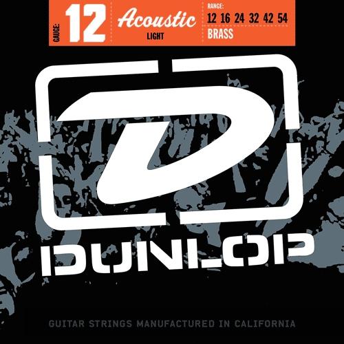 Dunlop DAB1066 Westernsnaren Messing 80/20 (12-54)