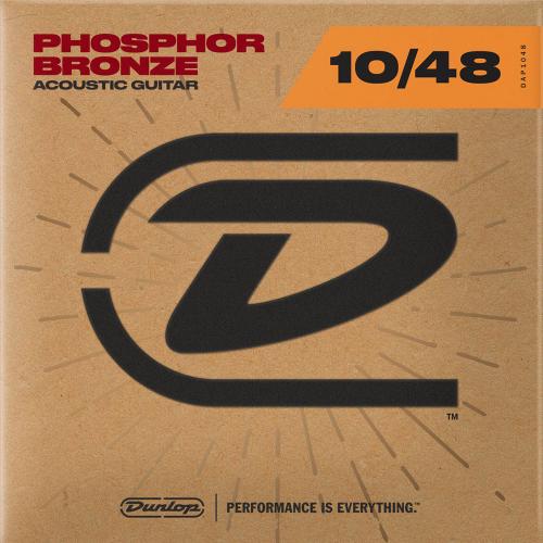 Dunlop DAP1048 Westernsnaren Phosphor Bronze (10-48)