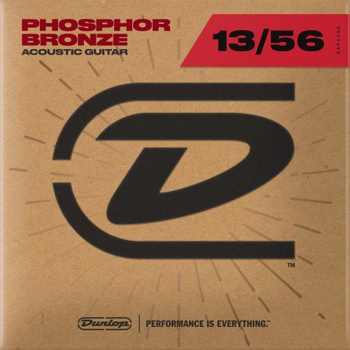 Dunlop DAP1356 Westernsnaren Phosphor Bronze (13-56)
