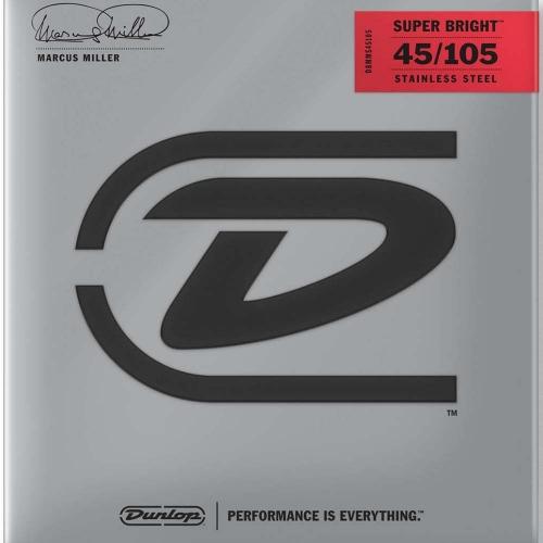 Dunlop DBMMS45105 Marcus Miller Super Bright Bassnaren (45-105)