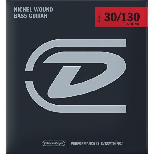 Dunlop DBN30130 Bassnaren 6-Snarig Long Scale (30-130)