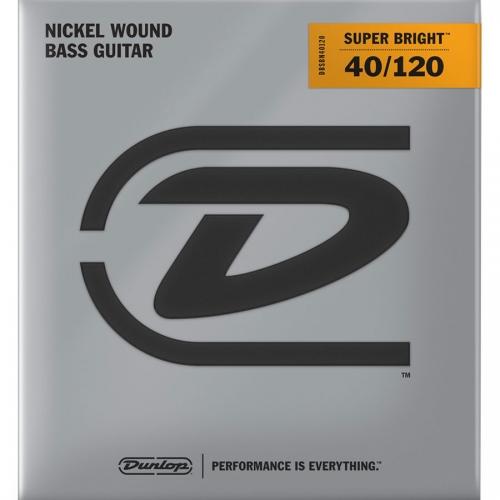 Dunlop DBSBN40120 Super Bright Bassnaren 5-Snarig Long Scale (40-120)