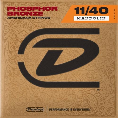 Dunlop DMP1140 Americana Phosphor Bronze Snaren voor Mandoline (11-40)