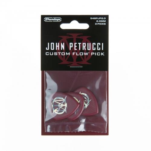 dunlop flow plectrums - john petrucci artist 3-pack