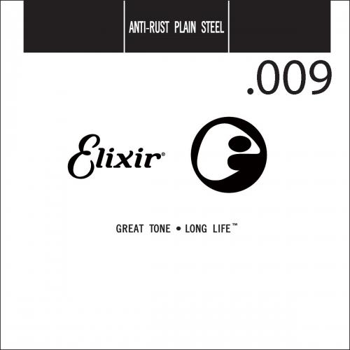 Elixir 13009 Roestvrij Stalen .009 Losse Snaar