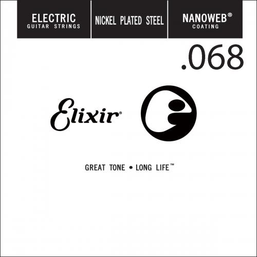 Elixir 15268 Nanoweb Electric .068 Losse Snaar