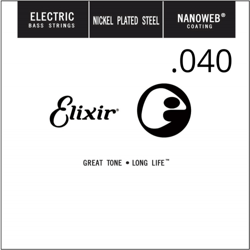 Elixir 15340 Nanoweb .040 Losse Bassnaar