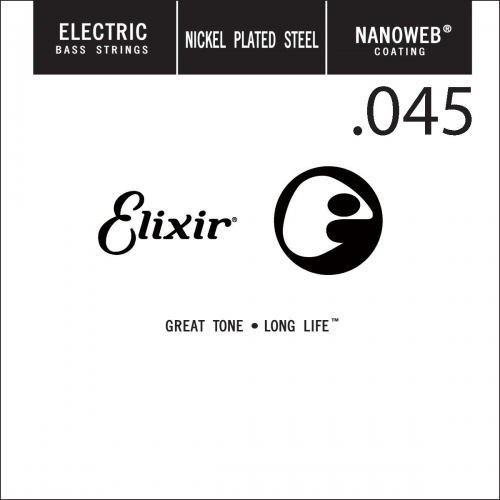 Elixir 15345 Nanoweb .045 Losse Bassnaar