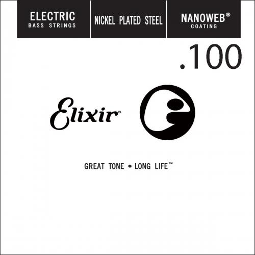 Elixir 15400 Nanoweb .100 Losse Bassnaar