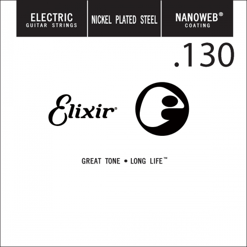 Elixir 15430 Nanoweb .130 Losse Bassnaar (5th)