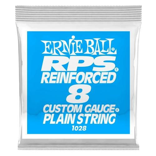 Ernie Ball 1028 RPS Reinforced Plain Steel .008 Losse Snaar 6-Pack