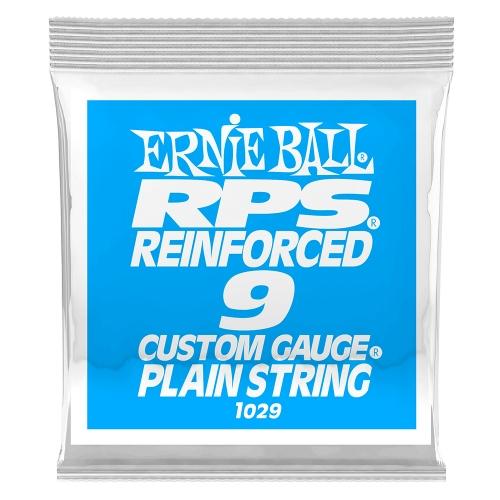 Ernie Ball 1029 RPS Reinforced Plain Steel .009 Losse Snaar 6-Pack