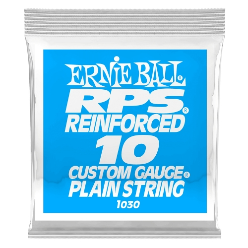 Ernie Ball 1030 RPS Reinforced Plain Steel .010 Losse Snaar 6-Pack