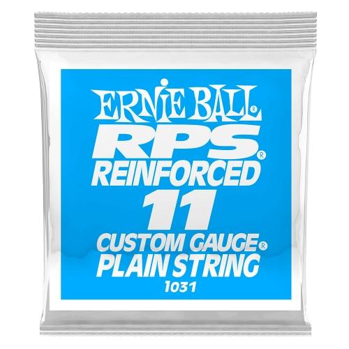 Ernie Ball 1031 RPS Reinforced Plain Steel .011 Losse Snaar 6-Pack