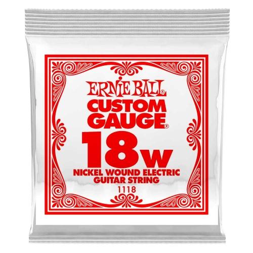 Ernie Ball 1118 Nickel Plated Steel .018w Losse Snaar - Per Stuk