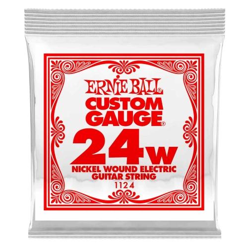 Ernie Ball 1124 Nickel Plated Steel .024 Losse Snaar - Per Stuk