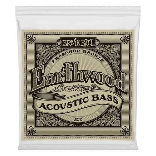 Ernie Ball 2070 Earthwood Akoestische Bassnaren (45-95)