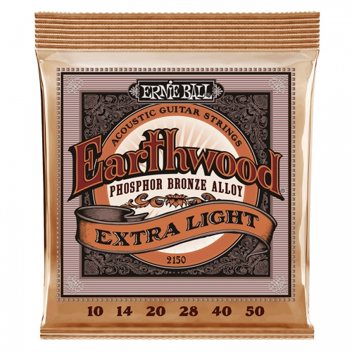 Ernie Ball 2150 Earthwood Phosphor Bronze Akoestische/Western Snaren (10-50)