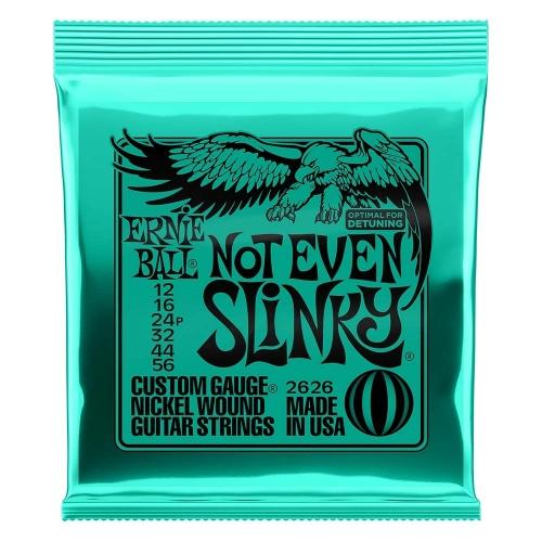 Ernie Ball 2626 Not Even Slinky Snaren voor Elektrische Gitaar (12-56)