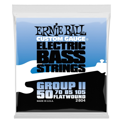 Ernie Ball 2804 Group II Flatwound Bassnaren (50-105)