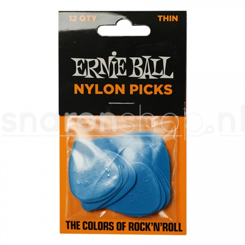 Ernie Ball 9135 Nylon Plectrum 0.53mm 12-Pack