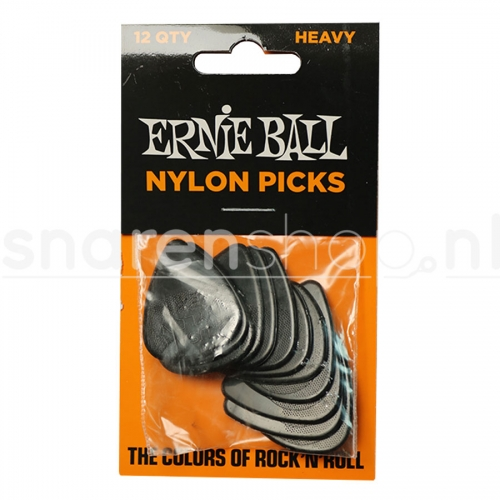 Ernie Ball 9137 Nylon Plectrum 0.97mm 12-Pack