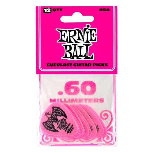 Ernie Ball 9179 Everlast Plectrum 0.60mm 12-Pack